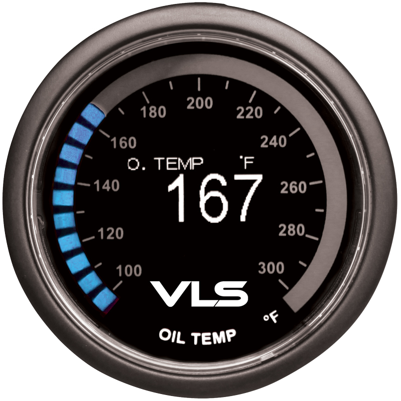Revel VLS Oil Temperature Gauge
