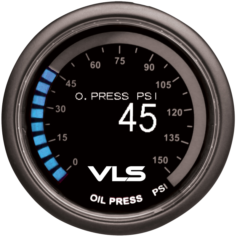 Revel VLS Oil Pressure Gauge