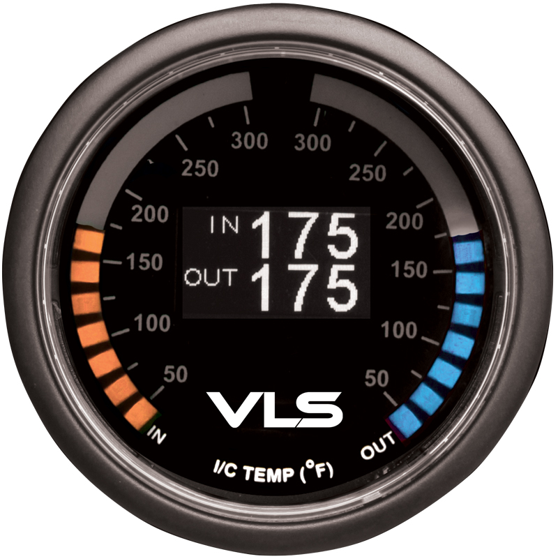 Revel VLS Intercooler Dual Temperature Gauge