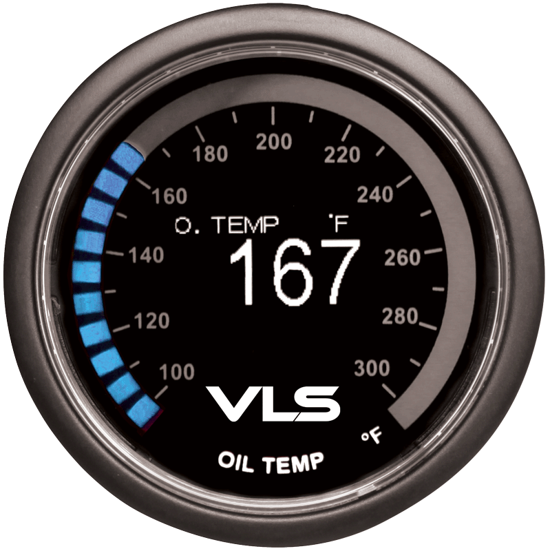 Revel VLS OLED Oil Temperature Gauge
