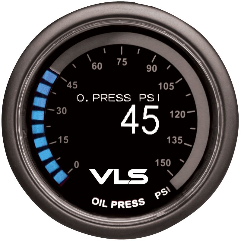 Revel VLS OLED Oil Pressure Gauge