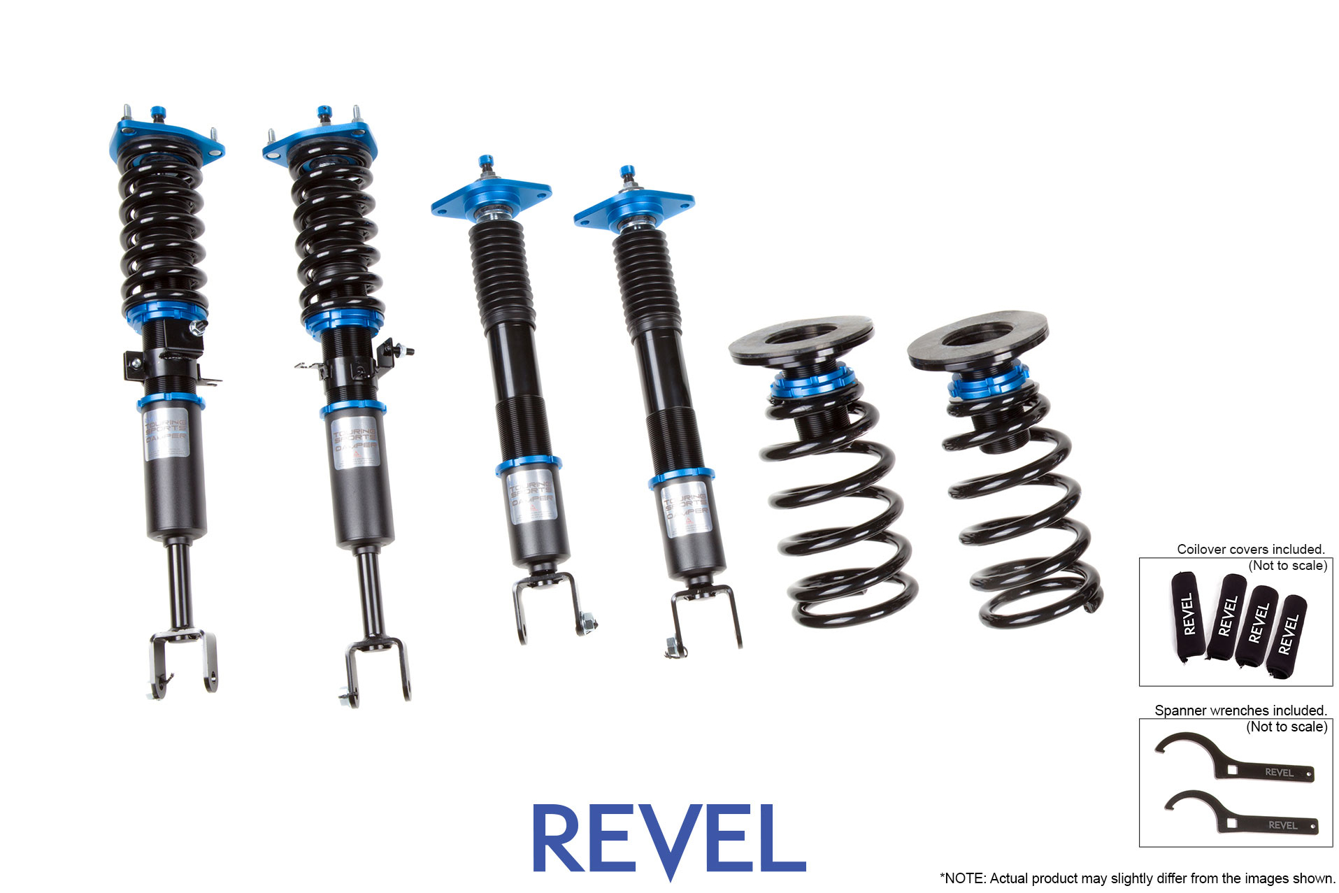 Revel TSD Coilovers for 03-07 Infiniti G35 Coupe, 03-06 Infiniti G35 Sedan RWD, 03-08 Nissan 350Z